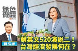 賴岳謙:蔡英文520演說二!台灣經濟發展何在?