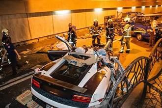 超跑富少炸隧道釀2死3傷 二審輕判1年2月