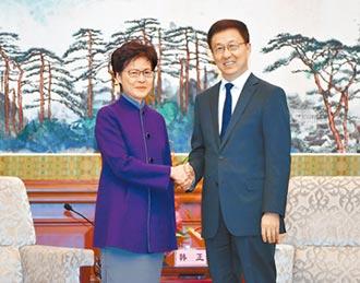 港版國安法只針對港獨和黑暴分子!韓正嗆 沒有國家可容忍分裂