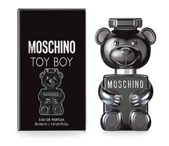 MOSCHINO鬼才設計師 打造泰迪熊男香TOY BOY