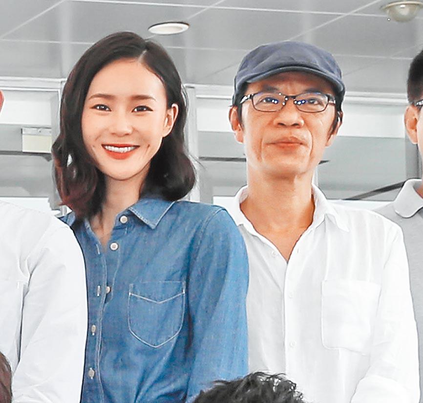 鍾瑶(左)與吳朋奉過去幾年同門,去年更曾兩度合作拍戲。(資料照片)