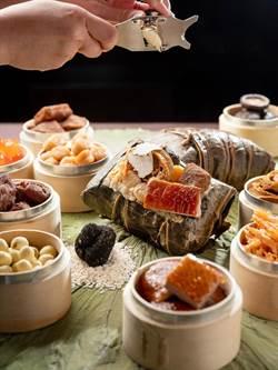 廣式裹蒸粽加法國黑松露 文華東方酒店首推米其林星級粽禮