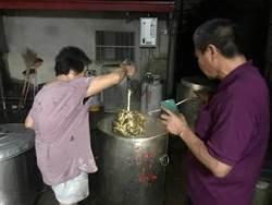 包到凌晨2點!台南頂長社區婆媽趕工 2000顆「凍粽」北上指揮中心