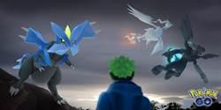 萊希拉姆、捷克羅姆和酋雷姆降臨《Pokémon GO》傳說團體戰
