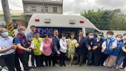 醫療推車大廠捐贈高頂救護車 盧秀燕感謝造福社會