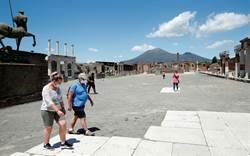 義大利逐步恢復觀光 龐貝古城重新開放