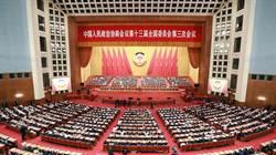 大陸全國政協閉幕 汪洋:實行「中國式民主」