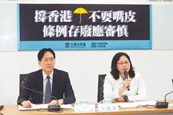 港人政治庇護 藍委修法排除罰則