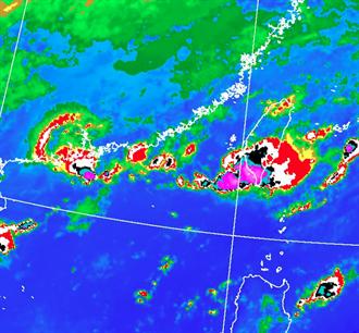 梅雨鋒面再加碼 今明恐有對流胞飄台灣