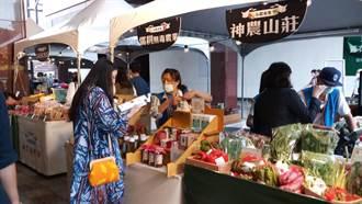 不怕菜價隨雨漲 中友小農市集周末開市
