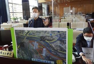 陳世凱關心烏日運動場規畫 要求盡快完成舊官吏派出所進場