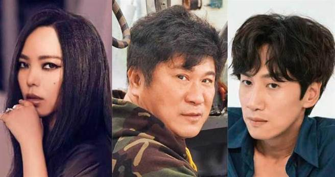 (左)張惠妹(中)胡瓜(右)李光洙。(圖/翻攝自網路)