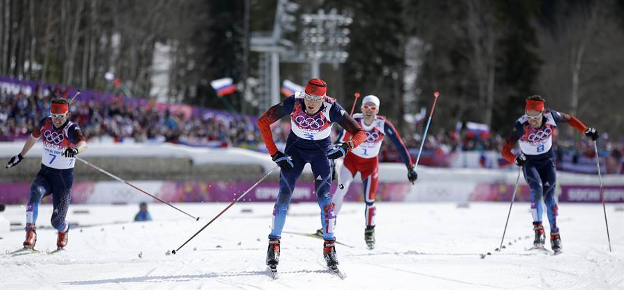 2014年索契冬奧銅牌、俄羅斯滑雪名將契爾諾索夫轉籍至瑞士。(美聯社資料照)