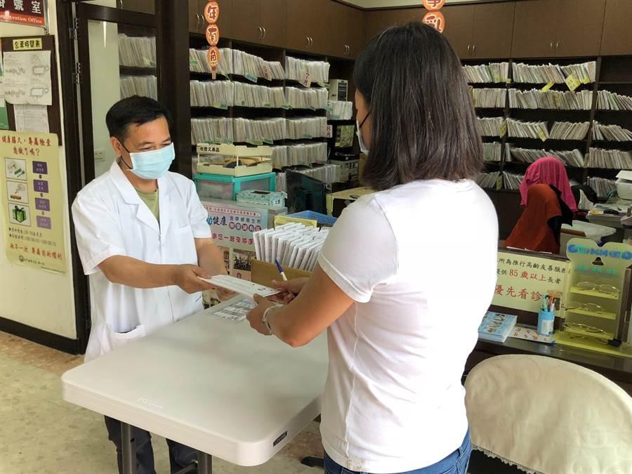 6月1日起,金門各鄉鎮衛生所口罩販售時間調整為星期一至星期五,請鄉親多加留意。(李金生攝)