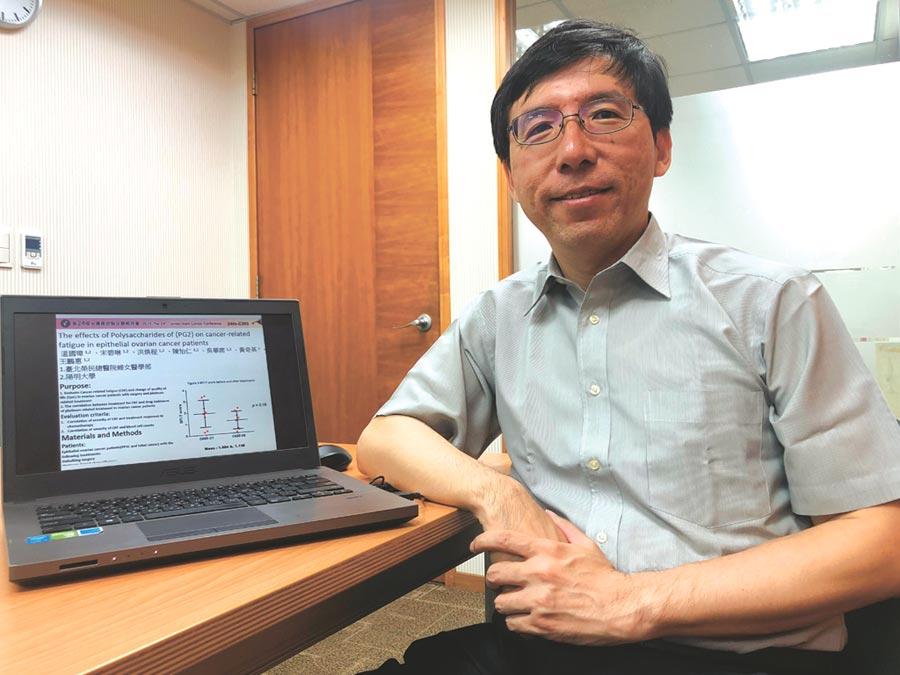 懷特生技表示,由榮陽團隊執行的研究發現,化療搭配抗癌疲憊藥物,有助提升人體T細胞與其受體的數值。圖/懷特生技提供