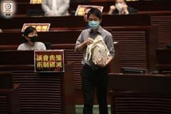 香港國歌法二讀辯論暫停 立法會3議員遭驅離