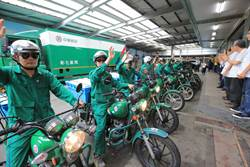 綠衣天使愛的遞送撐起防疫網 彰化郵務士每日配送200萬口罩…