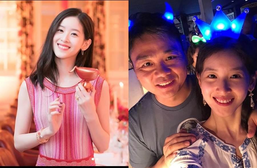 章澤天去年和劉強東挺過婚變傳聞。(圖/翻攝自zetianzzz IG)
