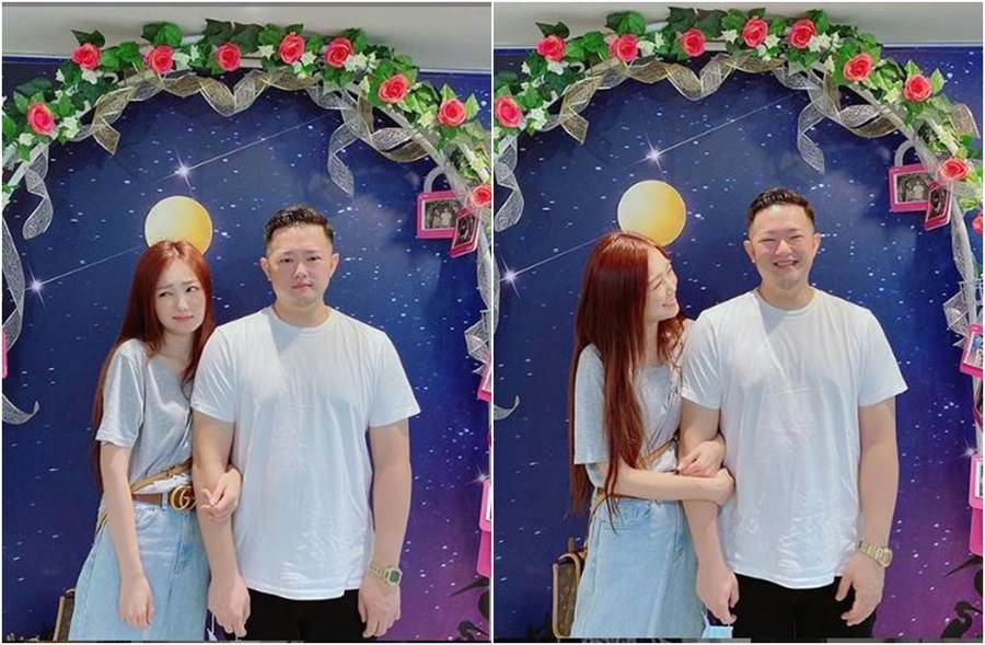 ㄚ頭今與王惟立登記結婚。(圖/取材自ㄚ頭Instagram)