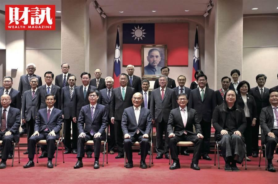 蘇貞昌新內閣調整不大,但被批評女性閣員比率過低。(圖/陳俊松攝/財訊)
