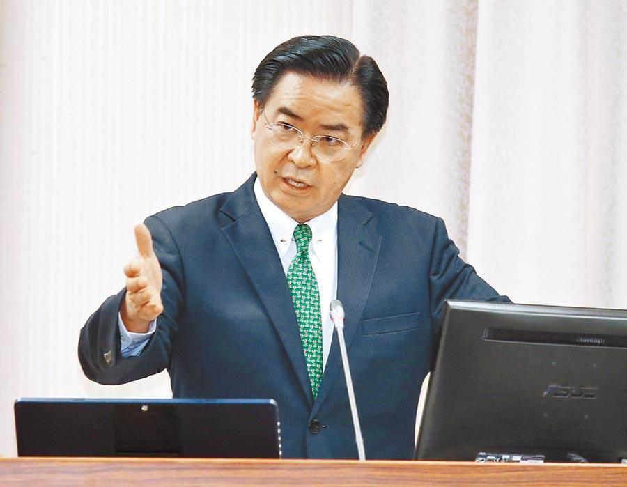 外交部長吳釗燮。(資料照片)