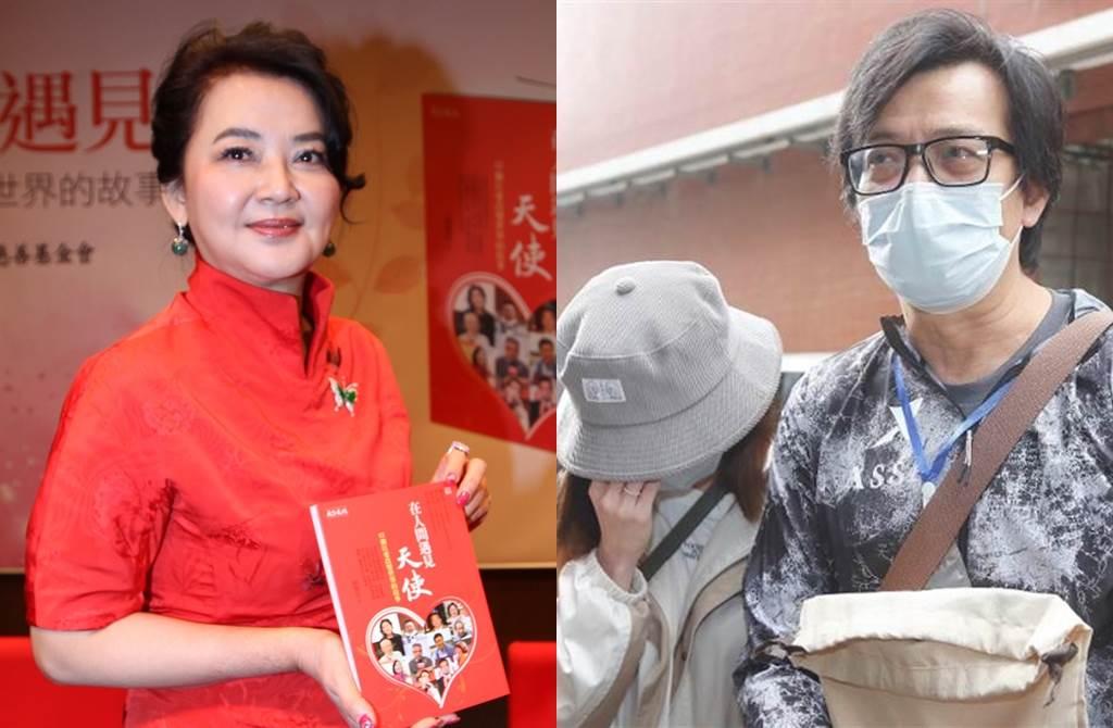 胡慧中情路坎坷、黃日華喪妻是娛樂最近熱議話題。(圖/中時資料照片;取自《on.cc東網》)