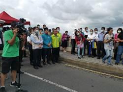 封橋封路、垂吊救人 南市災害防救演練500多人出動