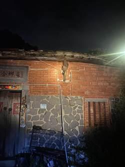 新店雨量達62mm  1民宅倒塌、3處積淹水
