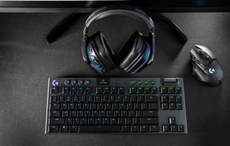 Logitech G推出G913 TKL 80%無線機械式遊戲鍵盤