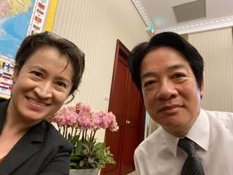 蕭美琴感謝賴清德邀華府同行 破除「監軍」謠言
