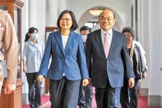蘇貞昌指國民黨配合陸一國兩制 嗆:謊話一篇