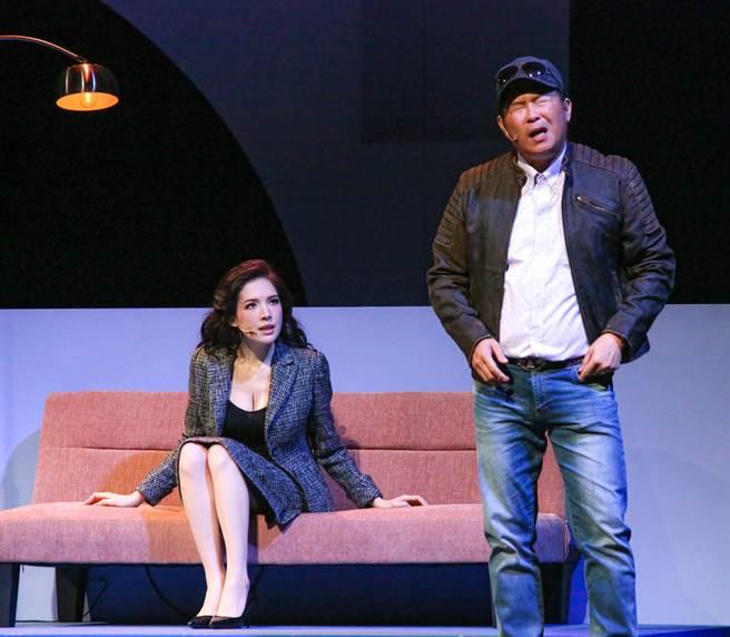 許瑋甯演舞台劇沒人看 回家想賞男友一巴掌。(吳松翰攝)