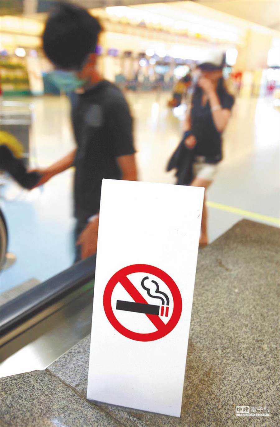 衛福部國健署日前預告《菸害防制法》修正草案,將原先「特例」可吸菸的室內空間全刪除,根據本報最新民調顯示,超過6成民眾支持修法。(本報資料照片)