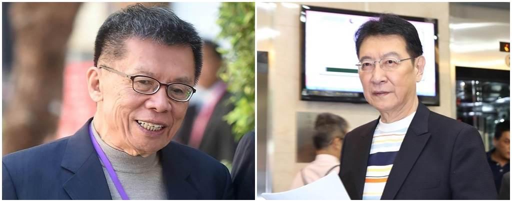 前民進黨立委沈富雄(左圖)、資深媒體人趙少康(右圖)。(本報資料照)
