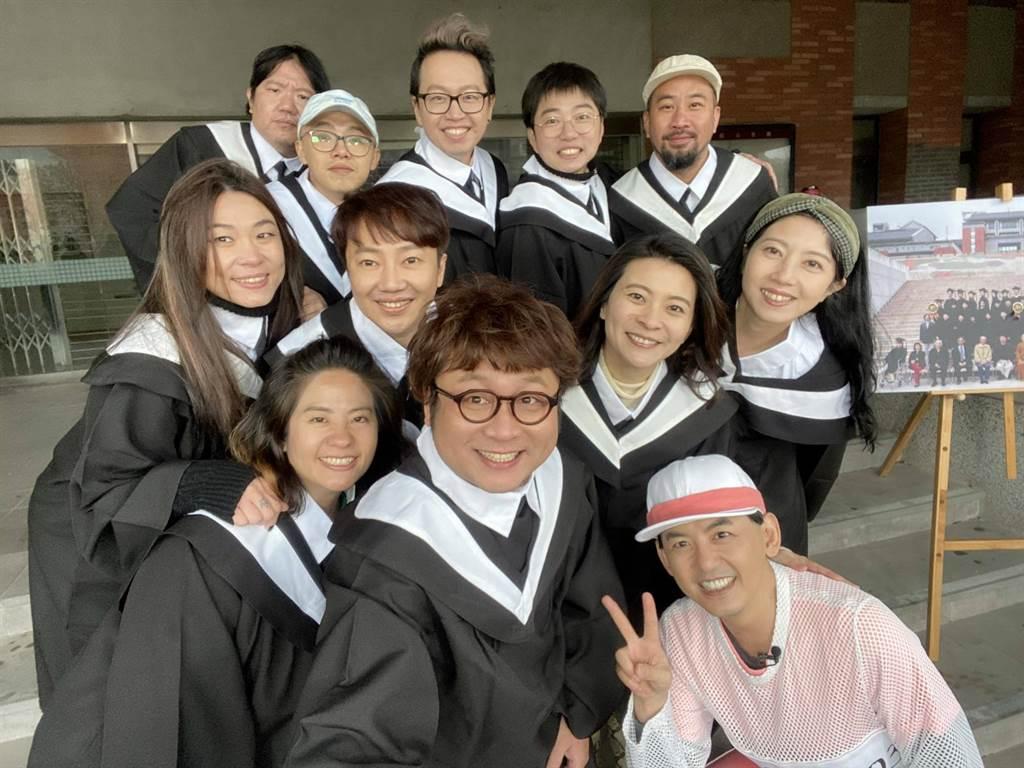 八大《一個都不能少》節目,本週邀請納豆號召同學回母校。(八大提供)