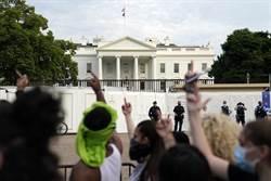 「非裔之死」示威變動亂!當地宵禁 白宮一度被逼封鎖