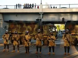 一觸即發!美示威遍地烽火 國防部罕見要憲兵隊「高度戒備」