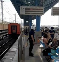 疑追趕火車遭輾斃 台鐵浮洲站傳死亡意外