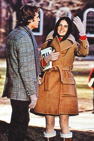 ⑩《愛的故事》低調奢華街頭風(1970)
