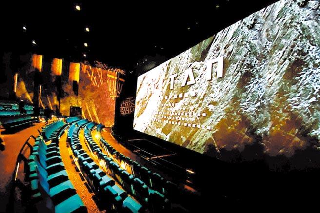 遠百信義A13 MUVIE CINEMAS有頂級視聽享受的TITAN巨幕影廳。(遠百提供)
