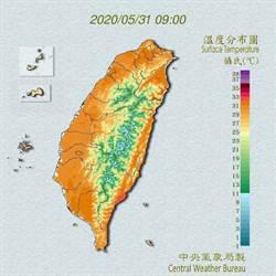 吳德榮:本周台灣受暖氣團影響 慎防高溫