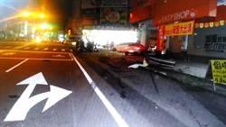 BMW男酒駕拒檢撞死人 遭羈押