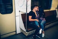 10歲女童目睹免費捷運親吻秀 激情男女1吻過8站