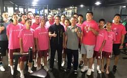 神岡國中出征晧宇盃籃球賽 中市運動局長為選手加油