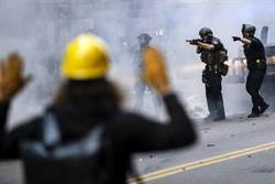 美國警察用橡皮子彈 路透社記者也中彈