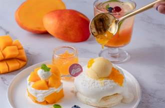 「楊枝甘露」變鬆餅!芒果控必吃的夏季限定人氣舒芙蕾