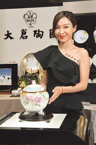 日本Noritake雙畫師首次聯展 罕見胭脂花瓶空運來台