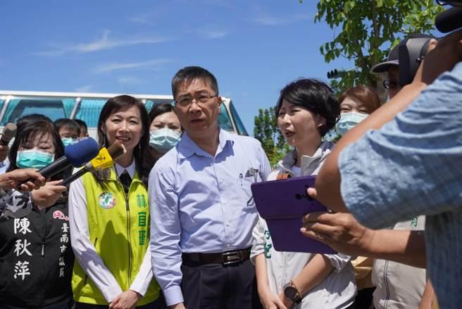 內政部長徐國勇針對傳出逾2000萬筆台灣民眾個資遭外洩資安疑慮,強調非政府部門流出。(曹婷婷攝)