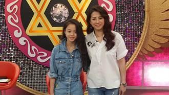 郭靜純12歲女兒現身 高顏值美炸
