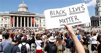只因20美元假鈔被白人警壓頸致死! 好萊塢明星街頭聲援「抗議黑人之死」